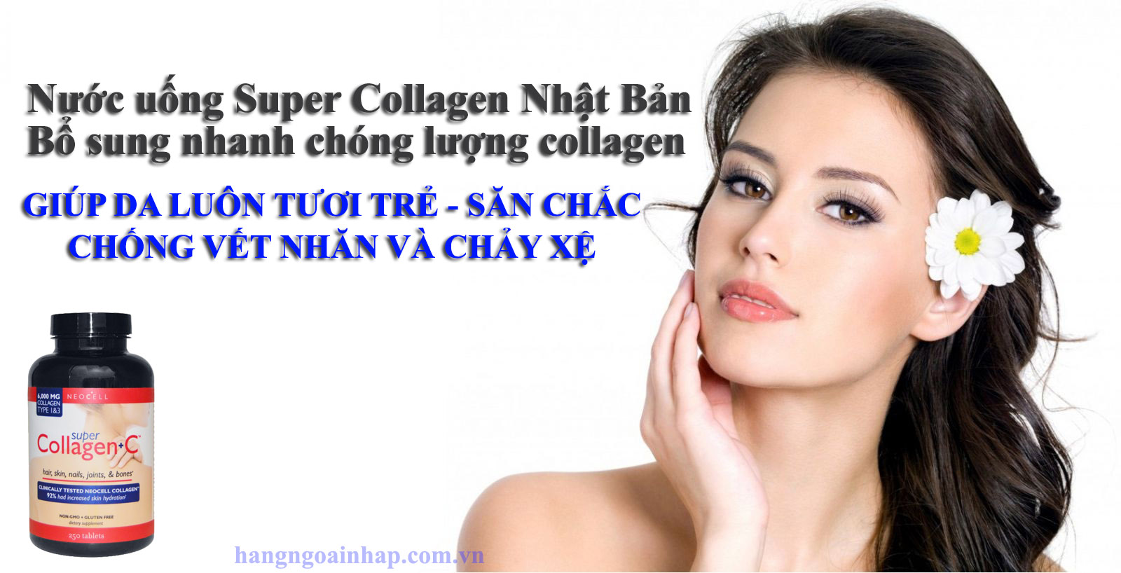 công dụng của super collagen nhật bản