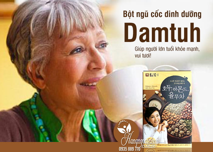 Bột ngũ cốc dinh dưỡng Damtuh Hàn Quốc 50 gói 34