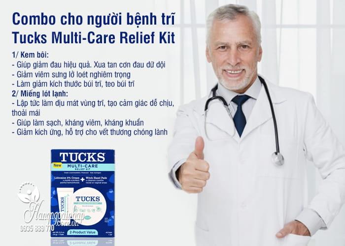 Combo cho người bệnh trĩ Tucks Multi-Care Relief Kit của Mỹ 7