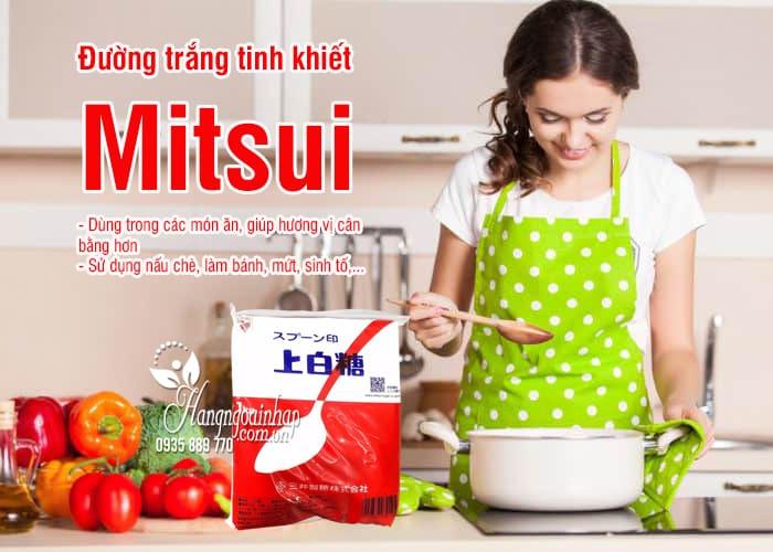Đường trắng Mitsui 1kg Nhật Bản, đường trắng tinh khiết 33