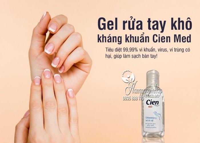 Gel rửa tay khô Cien Med 50ml của Đức, gel kháng khuẩn 1