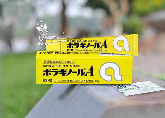 Kem bôi trĩ chữ A Nhật Bản tuýp 20, hỗ trợ cho bệnh nhân trĩ 1