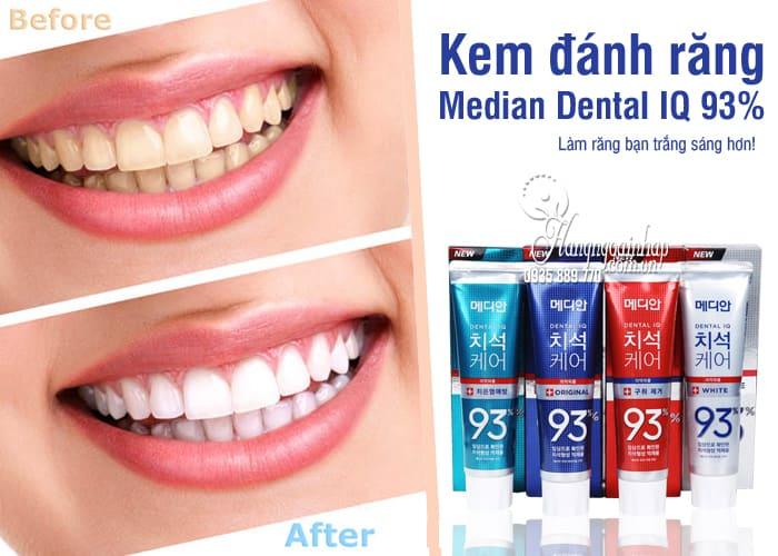 Kem đánh răng Median 86%, Median Dental IQ 93% Hàn Quốc 8