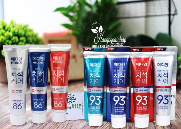 Kem đánh răng Median 86%, Median Dental IQ 93% Hàn Quốc 1