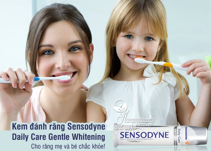 Kem đánh răng Sensodyne Daily Care Gentle Whitening 100ml 8
