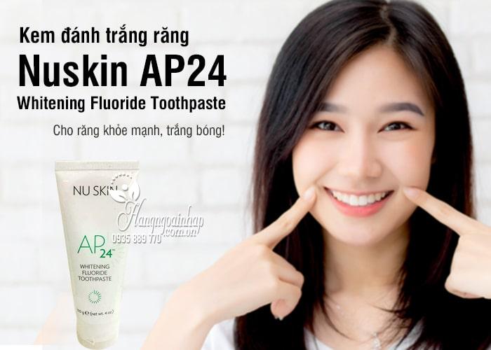 Kem đánh trắng răng Nuskin AP24 - Whitening Fluoride Toothpaste 1