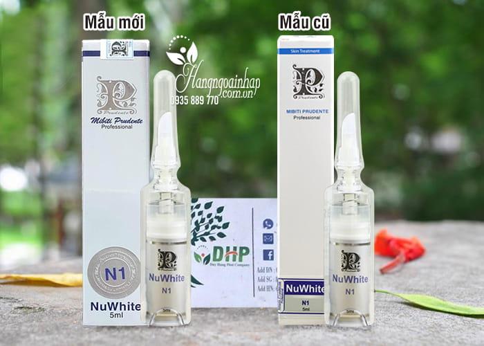 Kem làm hồng nhũ hoa Nuwhite N1 Mibiti Prudente chính hãng Mỹ 1