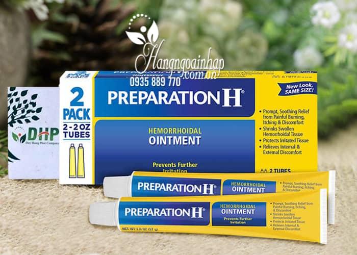 Kem trị trĩ Preparation H Ointment 57g x 2 của Mỹ, giá tốt 7