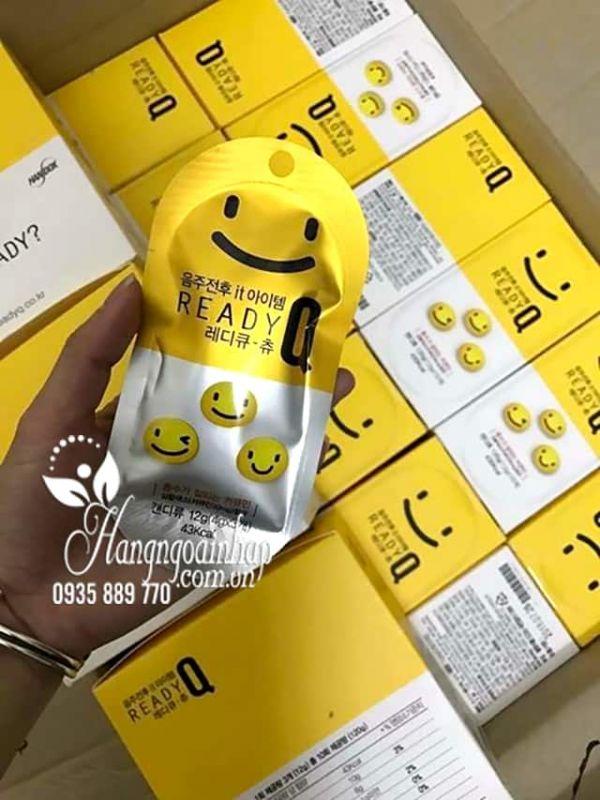 Kẹo chống say giải rượu Ready Q Chew hộp 10 gói của Hàn Quốc  45