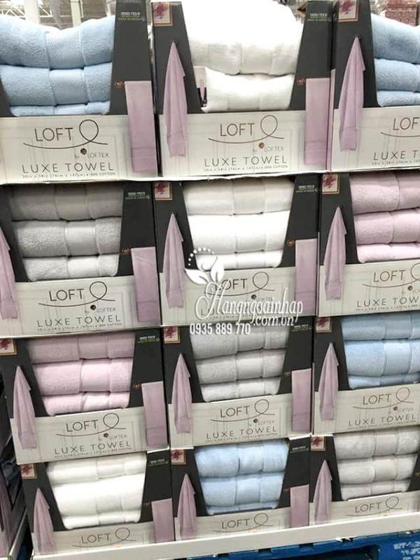 Khăn tắm Luxe Towel Loftex 76cm x 147cm cao cấp Mỹ 8