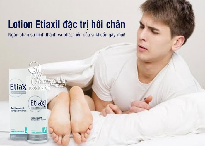Lotion Etiaxil đặc trị hôi chân tốt nhất của Pháp chai 100ml 5