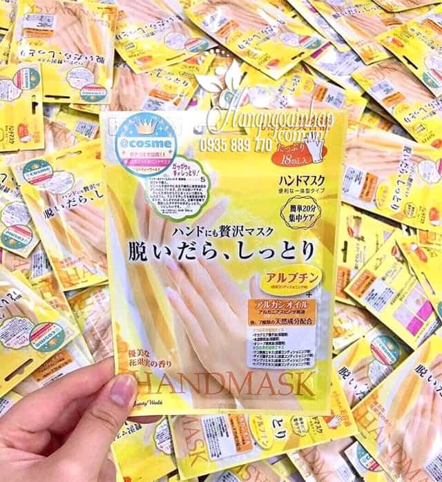 Mặt nạ ủ tay Handmask của Nhật Bản - giúp dưỡng da tay 4