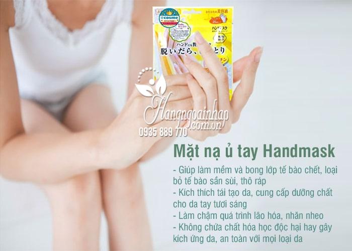 Mặt nạ ủ tay Handmask của Nhật Bản - giúp dưỡng da tay 2