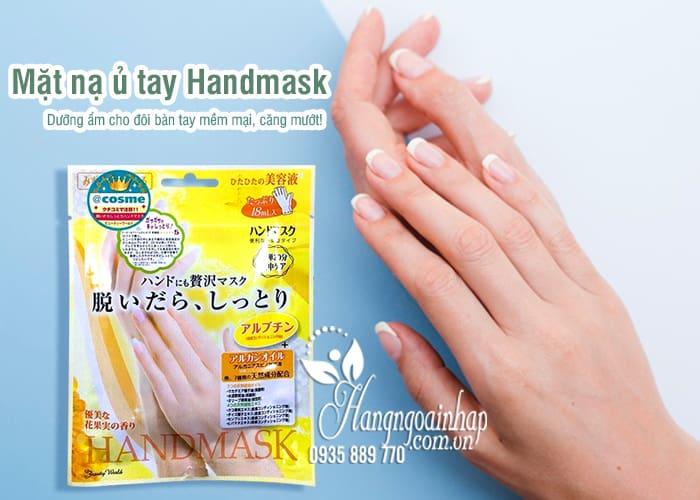 Mặt nạ ủ tay Handmask của Nhật Bản - giúp dưỡng da tay 1