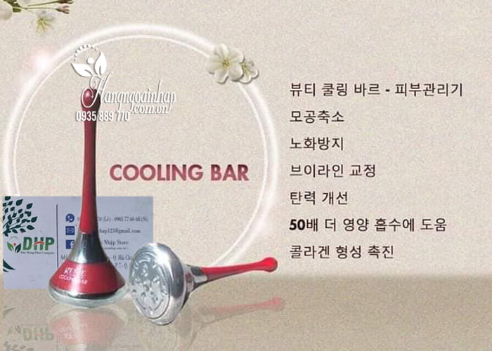 Máy đẩy tinh chất Genie Cooling Bar của Hàn Quốc 6