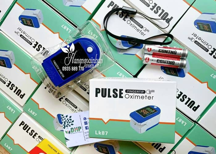 Máy đo nồng độ oxy trong máu Pulse Oximeter LK87 (đo SpO2) 0