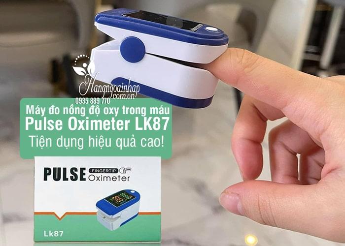Máy đo nồng độ oxy trong máu Pulse Oximeter LK87 (đo SpO2) 8