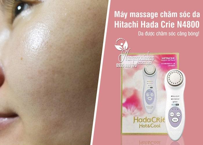 Máy massage chăm sóc da Hitachi Hada Crie N4800 Nhật Bản 8