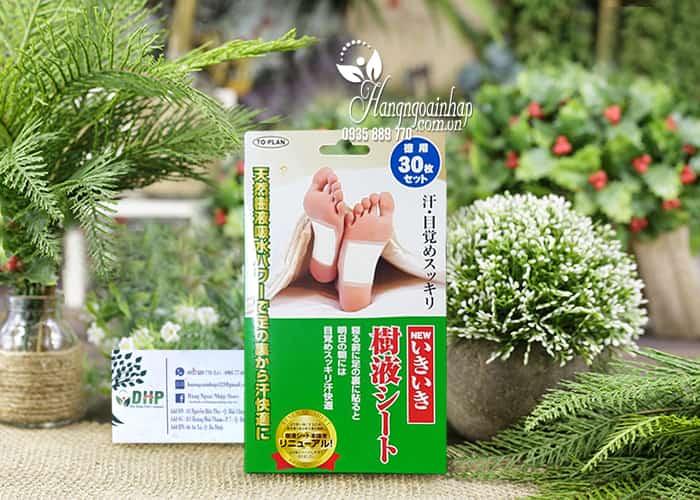 Miếng dán thải độc chân to-plan kenko sheet của Nhật Bản 1