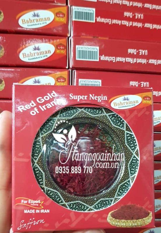 Nhụy hoa nghệ tây Bahraman Saffron Super Negin của Iran 2