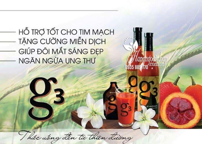 Nước gấc G3 Nuskin, nước uống dinh dưỡng chống lão hóa 7