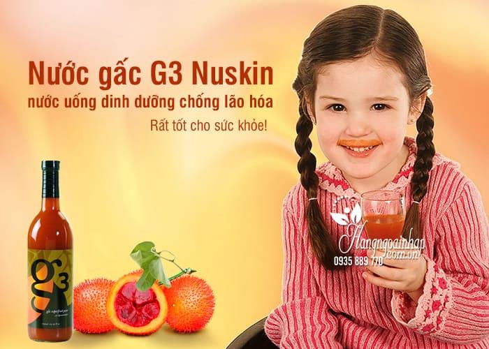 Nước gấc G3 Nuskin, nước uống dinh dưỡng chống lão hóa 1