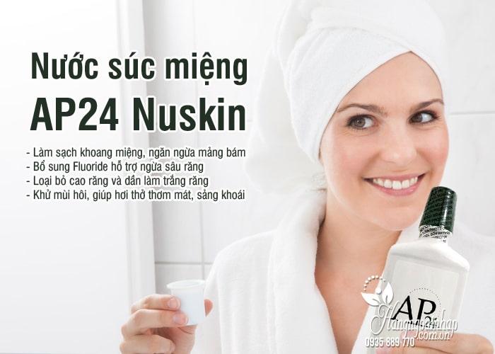 Nước súc miệng AP24 Nuskin 500ml chính hãng Mỹ 2