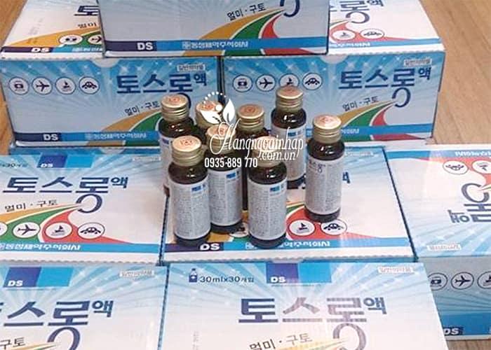 Nước uống chống say tàu xe DongSung TosLong Sos Hàn 2