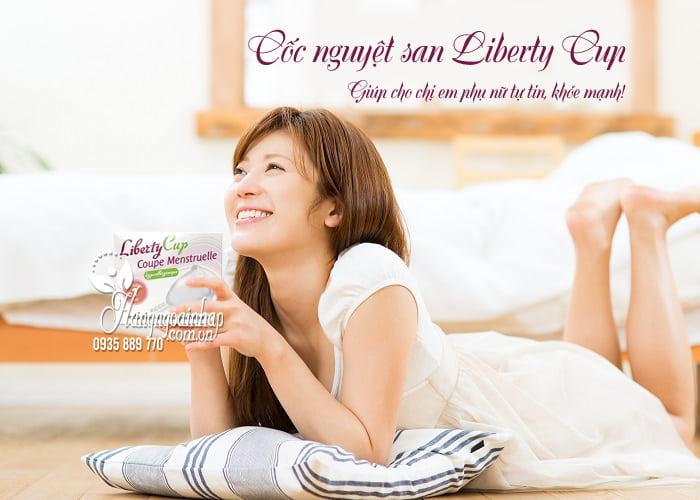 Cốc nguyệt san Liberty Cup của Pháp, mỏng mềm, an toàn 8