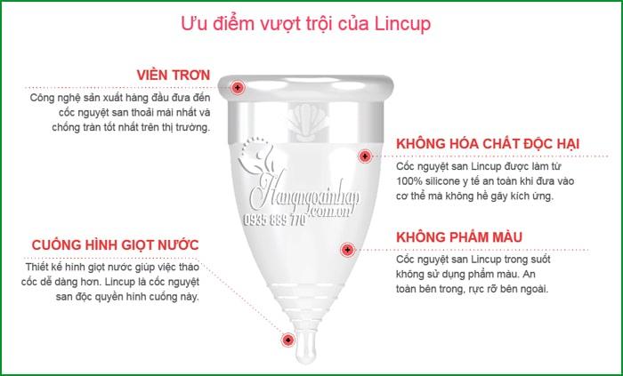 Cốc nguyệt san Lincup Made in USA cho phụ nữ 9