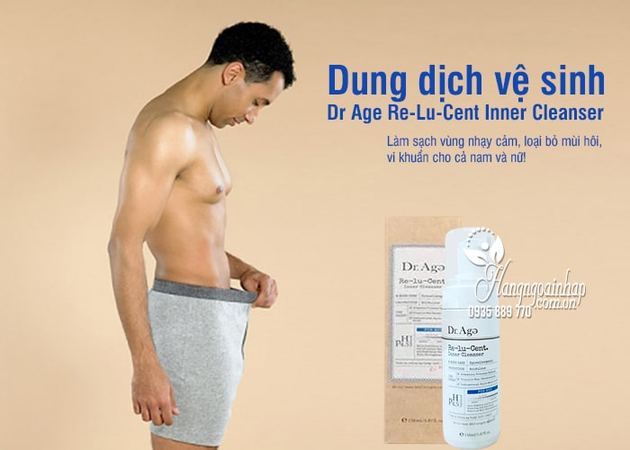 Dung dịch vệ sinh Dr Age Re-Lu-Cent Inner Cleanser Hàn Quốc 6