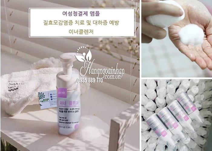 Dung dịch vệ sinh phụ nữ Genie Tea Tree Oil 100ml Hàn Quốc 4