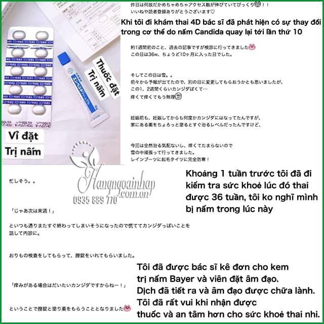 Kem đặc trị nấm âm đạo Empecid 1% Bayer nội địa Nhật 0