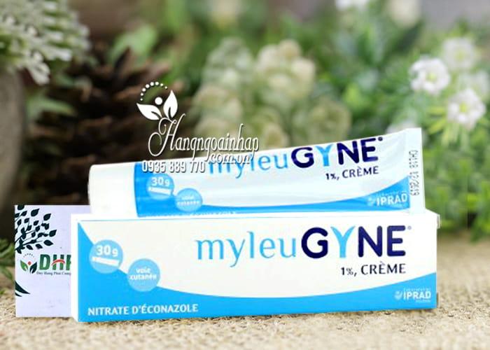 Kem trị nấm âm đạo MyleuGyne 1% Creme tuýp 30g của Pháp 3