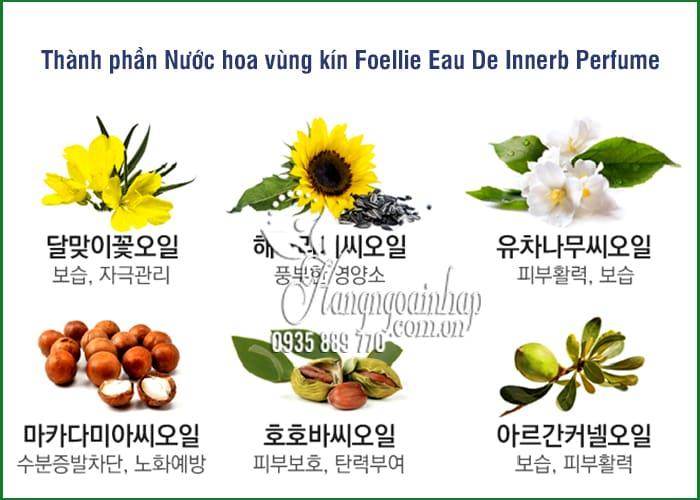Nước hoa vùng kín Foellie Eau De Innerb Perfume 5ml Hàn Quốc 2