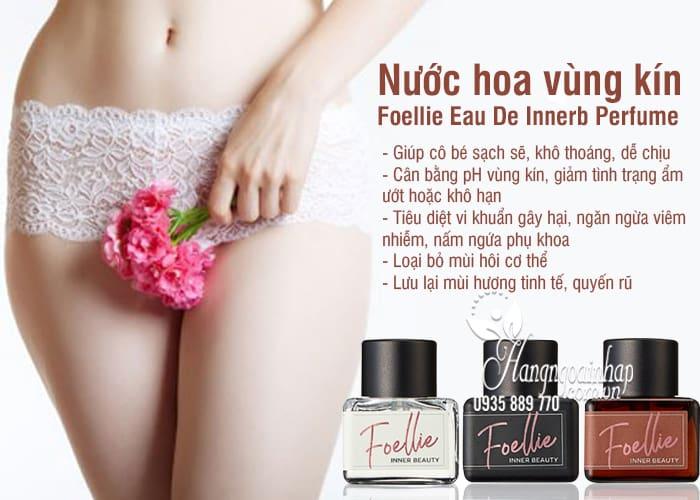 Nước hoa vùng kín Foellie Eau De Innerb Perfume 5ml Hàn Quốc 4