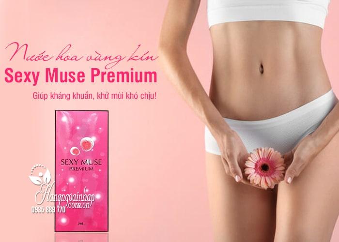 Nước hoa vùng kín Sexy Muse Premium 7ml của Nhật Bản 1