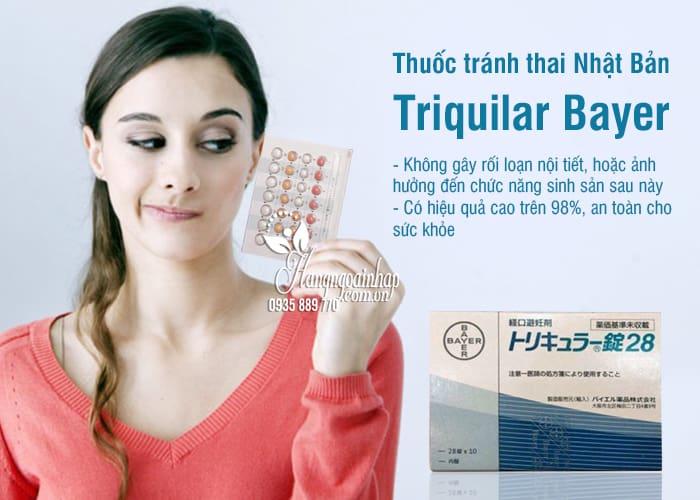 Thuốc tránh thai Nhật Bản Triquilar Bayer hàng ngày 28 viên 3