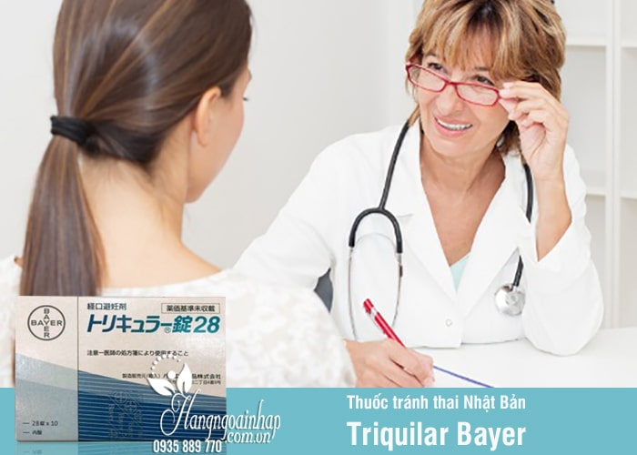 Thuốc tránh thai Nhật Bản Triquilar Bayer hàng ngày 28 viên 2