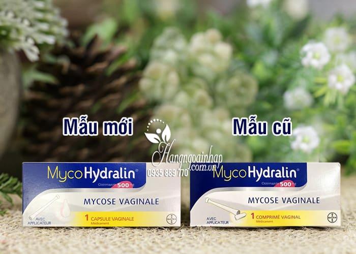 Viên đặt phụ khoa Mycohydralin 500mg của Pháp 1 liệu trình 1