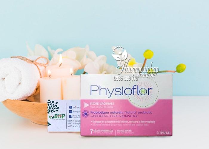 Viên đặt phụ khoa Physioflor Flore Vaginale của Pháp vỉ 7 viên 1