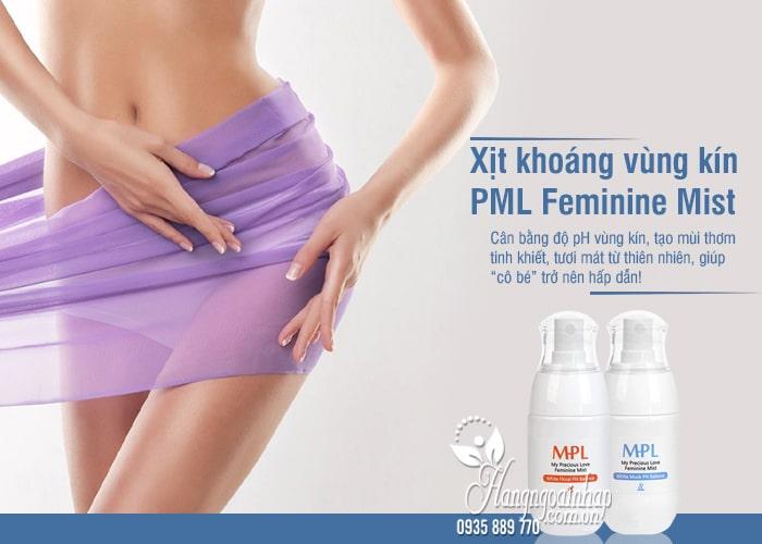 Xịt khoáng vùng kín PML Feminine Mist 50ml Hàn Quốc 1
