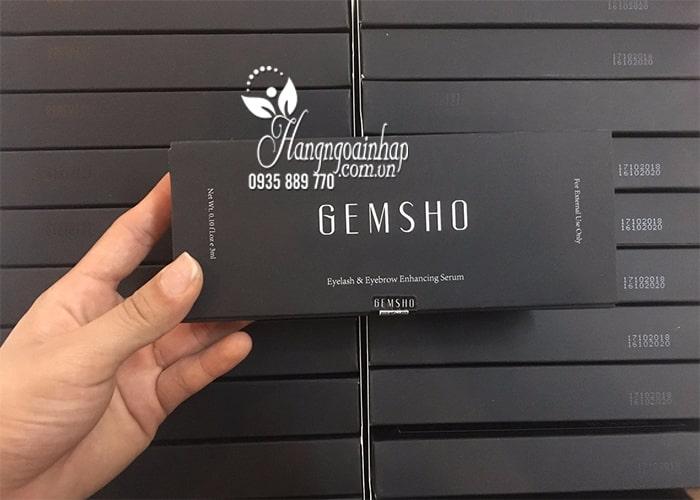 Serum dưỡng mi Gemsho Eyelash & Eyebrow 3ml của Mỹ 12