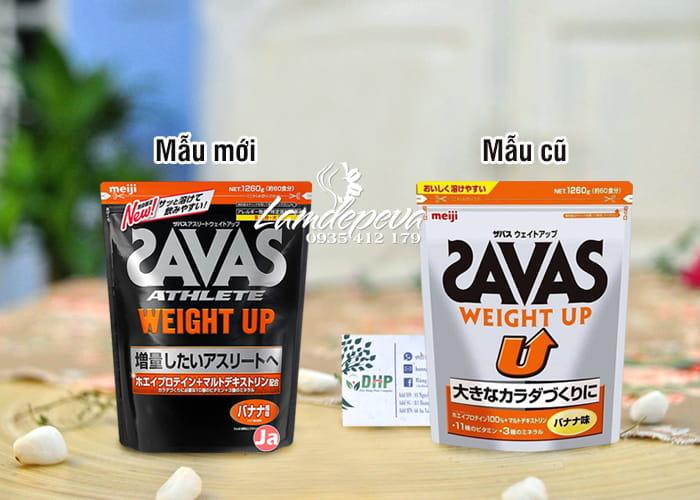 Sữa tăng cân Savas Meiji - Savas Weight Up 1260g Nhật Bản 9
