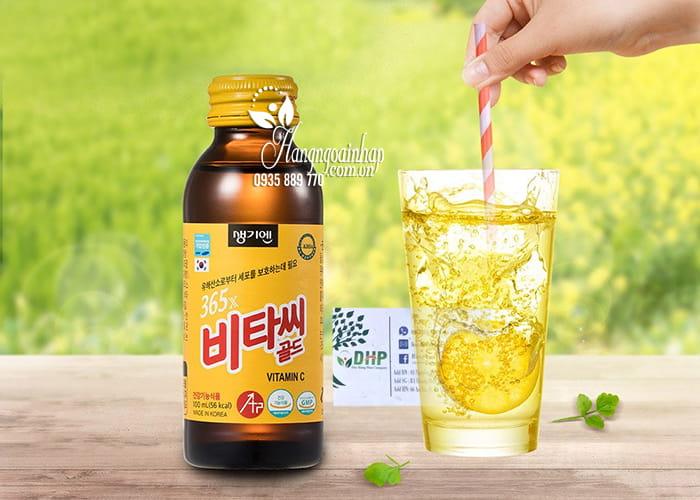 Thực phẩm bổ sung 365x Vitamin C Gold Hàn Quốc 100ml x 10 1