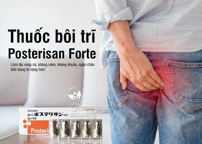 Thuốc bôi trĩ Posterisan Forte Nhật Bản 2g x 50 tốt nhất 1