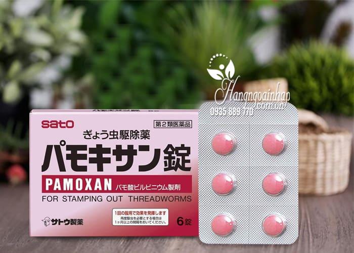 Thuốc tẩy giun Pamoxan Sato Nhật Bản, hiệu quả cao, an toàn 1