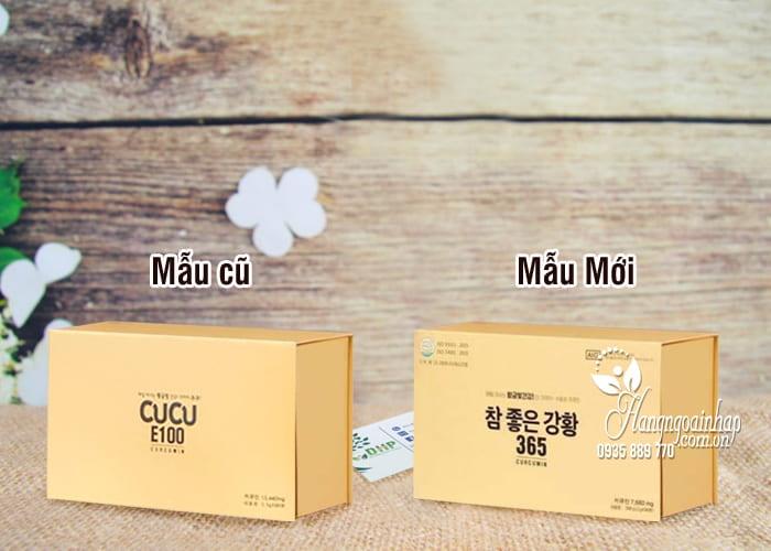 Tinh nghệ Nano Cucu E100 Curcumin Hàn Quốc mẫu mới nhất 22