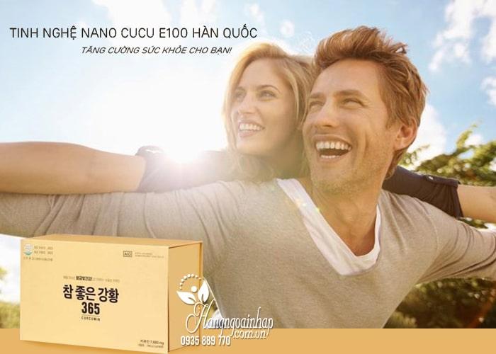 Tinh nghệ Nano Cucu E100 Curcumin Hàn Quốc mẫu mới nhất 1