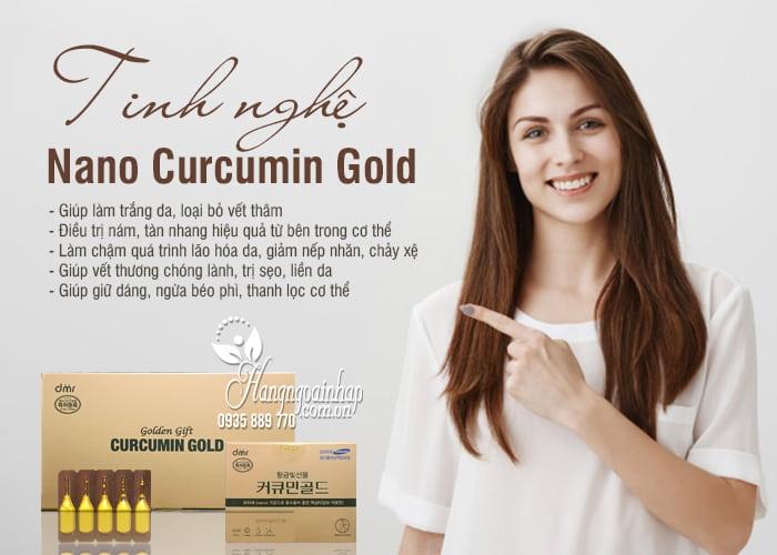 Tinh nghệ Nano Curcumin Gold Hàn Quốc - Liệu pháp hiện đại 0